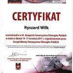 2011 65. Kongres Towarzystwa Chirurgów Polskich