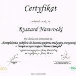 2008 Seminarium: Kompleksowe podejście do leczenia pacjenta medycyny estetycznej - terapia oczyszczająca i biomezoterapia