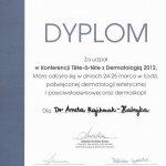 2012 Dr Aneta Majchrzak-Habryka - Tete-a-tete z dermatologią