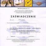 2013 Uczestnictwo w kursie pt.: Jak zakwalifikować skutki choroby przyzębia - czyli profilaktyka trzeciorzędowa