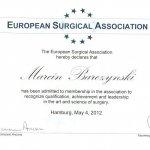 2006 European Surgical Association
