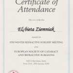 2004 European Society of Cataract and Refractive Surgeons