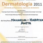 2011 Dr Aneta Majchrzak-Habryka - Sympozjum: dermatologia