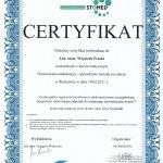 2011 Uczestnictwo w kursie pt.: Nowoczesna endodoncja - sprawdzone metody na sukces