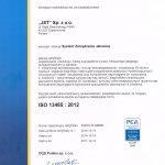 2014 System Zarządzania Jakością ISO 13485 : 2012