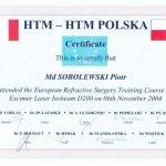 2004 European Refractive Surgery Training Course