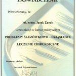 2007 Kurs: Problemy śluzówkowo-dziąsłowe Leczenie chirurgiczne