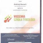 Certyfikat dr. Banach