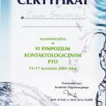 2005 Symzpozjum kontaktologiczne PTO