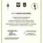 2007 POLSKO-UKRAIŃSKIE FORUM CHIRURGII PIERSI W LUBLINIE