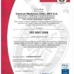 2013 Certyfikat jakości