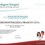 2008 Uczestnictwo w kursie pt.: Periodontologia praktyczna