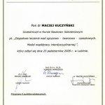 2009 Zespołowe leczenie wad zgryzowo-twarzowo-czaszkowych. Model współpracy interdyscyplinarnej.
