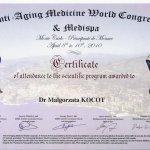 2010 Dr Małgorzata Kocot - Medispa Montecarlo