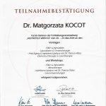 2004 Dr Małgorzata Kocot - Aesthetica Wien