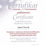 2012 Agata Nowak - peelingi Natinuel