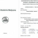 Choroby alergiczne wieku rozwojowego-klinika , diagnostyka i leczenie- Kolegium Kształcenia Podyplomowego Wydziału Lekarskiegp Śląskiej Akademii Medycznej w Katowicach
