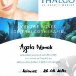 2012 Agata Nowak - Thalgo