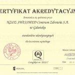 2011 Certyfikat akredytacyjny