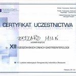 2006 XII Rzeszowskie Dni Gastroenterologii