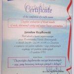 2008 Certyfikat ukończenia kursu