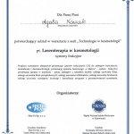 2012 Agata Nowak - warsztat: laseroterapia
