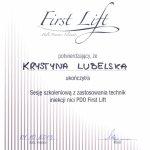 2013 Sesja szkoleniowa z zastosowania technik iniekcji nici PDO First Lift