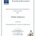 2011 Dr Emilia Sitkiewicz - ultrasonograficzne warsztaty praktyczne