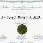 2003 Certyfikat członkostwa