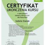 2014 Certyfikat Doradcy Dietetycznego