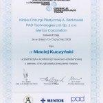 2008 Konferencja naukowo-szkoleniowa z zakresu chirurgii plastycznej piersi i twarzy.