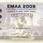 2009 Dr Małgorzata Kocot - EMAA Paris