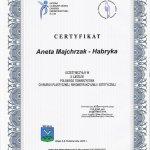 2005 Dr Aneta Majchrzak-Habryka - Zjazd Polskiego Towarzystwa Chirurgii Plastycznej, Rekonstrukcyjnej i Estetycznej