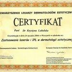2004 Zastosowanie laserów i IPL w dermatologii estetycznej