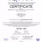 2014 Quality Management System ISO 9001 : 2008
