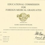 1999 EDUCATIONAL COMMISSION FOR FOREIGN MEDICAL GRADUATES
