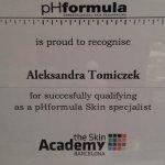 Przyjęcie do grona światowych specjalistów firmy pHformula