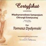 2007 Międzynarodowe sympozjum chirurgii estetycznej.