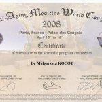 2008 Dr Małgorzata Kocot - Anti-Aging Paris