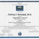 2005 Certyfikat ukończenia kursu