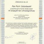 2011 Europejski kurs ultrasonograficzny