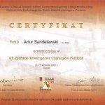 2007 63 Zjazd Towarzystwa Chirurgów Polskich
