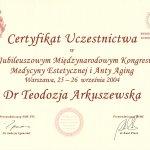 2004 Certyfikat