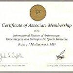 2005 International Society of Arthroscopy, Knee Surgery and Orthopaedic Sports Medicine