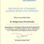 2010 Program szkoleniowy Allergan
