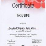 Sławomir Milka - certyfikat TrayLife