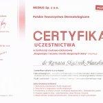 Diagnostyka i leczenie chorób alergicznych skóry- Konferencja Naukowo- Szkoleniowa Polskiego Towarzystwa Dermatologicznego. Katowice
