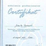 2005 Certyfikat: