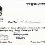 1995 Chirurgia odwarstwienia siatkówki