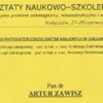 2003 Warsztaty Naukowo-Szkoleniowe Nałęczów